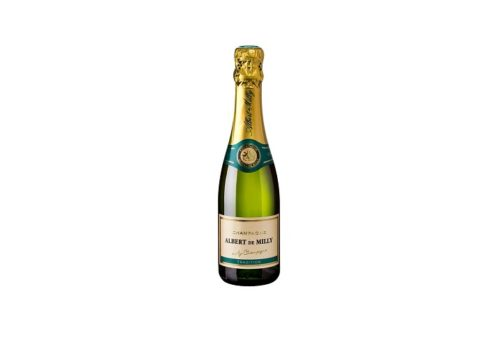 Cadeau entreprise champagne albert milly
