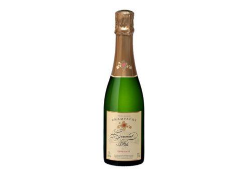 Cadeau entreprise champagne couvent empreinte