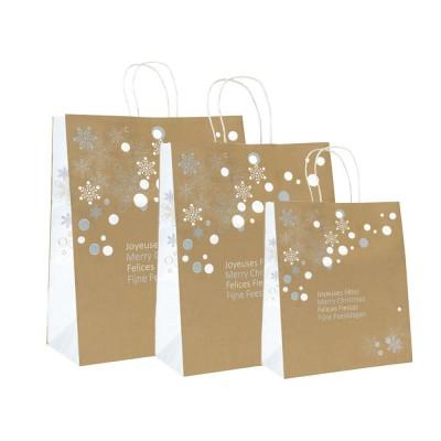 cadeau-affaire-sac-cadeau-or-snow-flake-entreprise