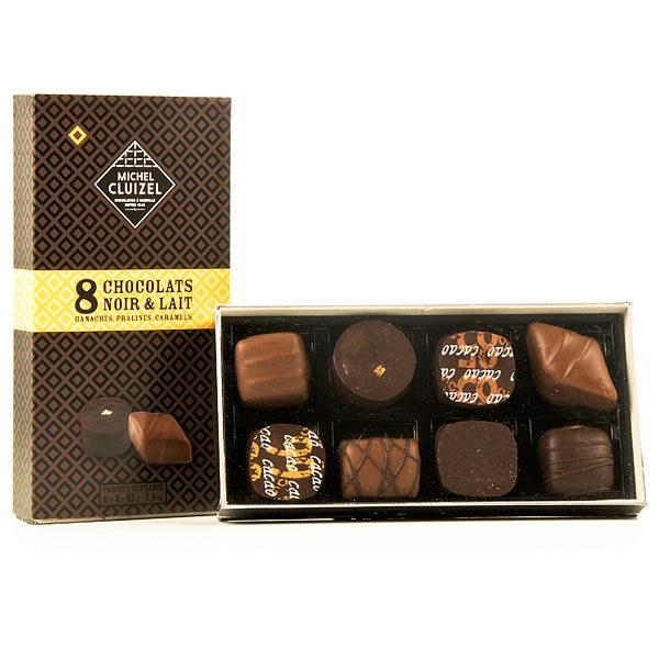 Cadeau ce coffret 8 chocolats