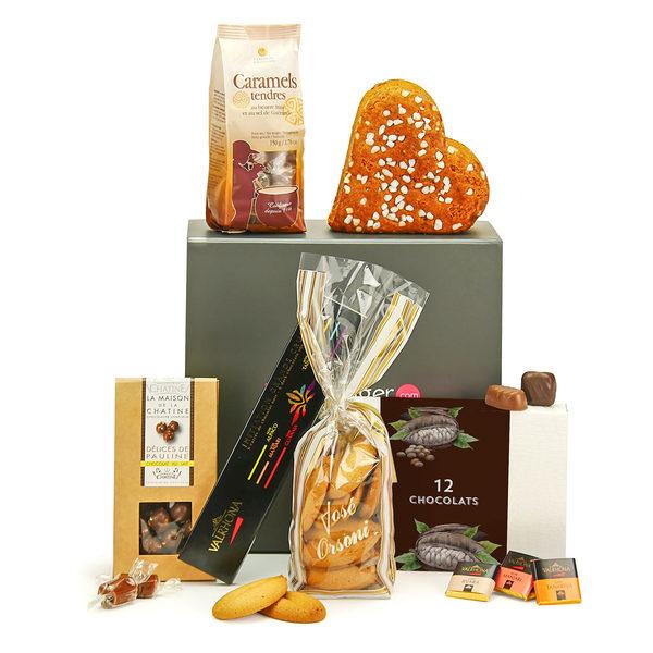 Coffret cadeau variétés chocolats séduction