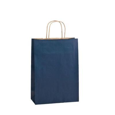 cadeau-d-entreprise-personnalise-sac-cadeau-noir-poignees-torsadees-marine