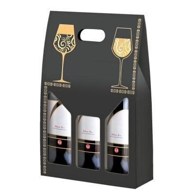 Boite coffret bouteille carton élégance