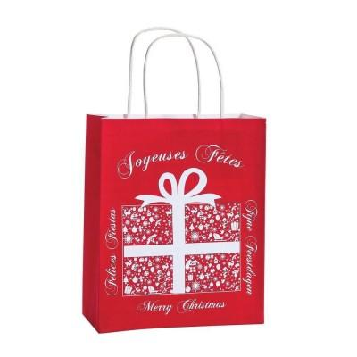 cadeau-de-fin-d-annee-entreprise-sac-cadeau-kraft-rouge-blanc