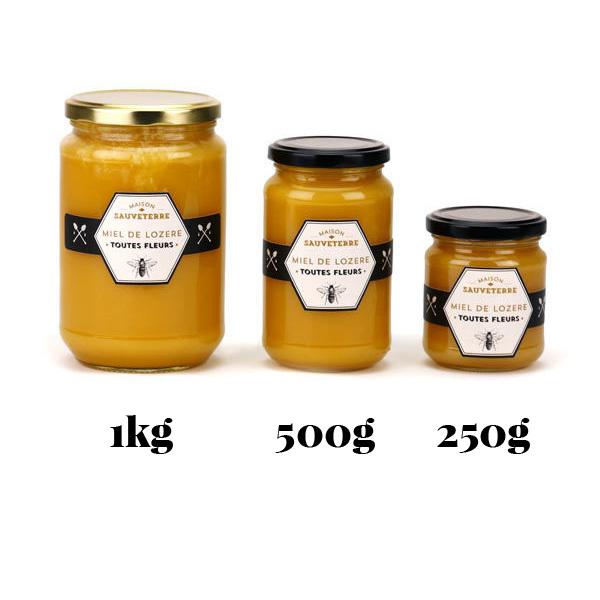 Miel de fleurs Lozère pur