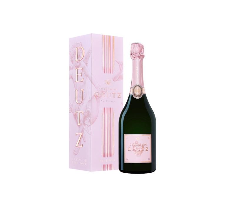 Cadeau affaire champagne deutz rose