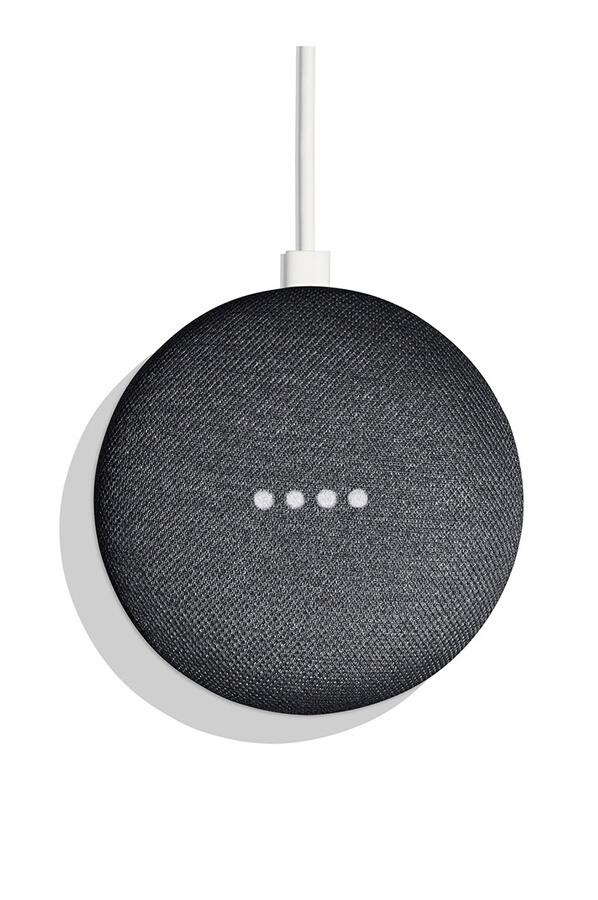 cadeau-client-google-home-mini-smart-charbon-design
