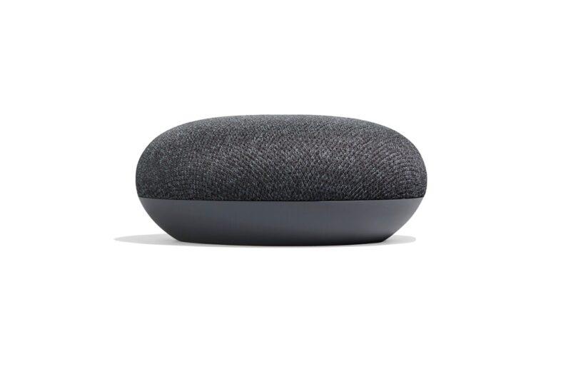 cadeau-client-google-home-mini-smart-charbon-face