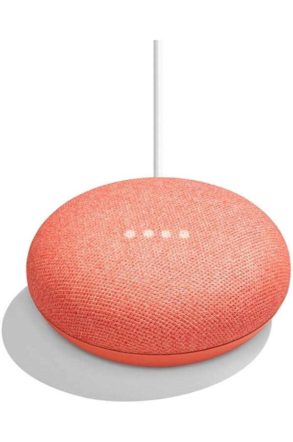 cadeau-client-google-home-mini-smart-corail-tendance