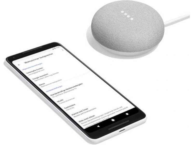 cadeau-client-google-home-mini-smart-personnalise-avec-smartphone