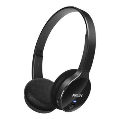 Casque-audio-Philips-noir-brillant