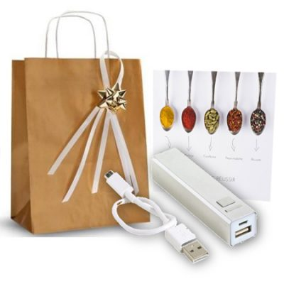 Coffret-cadeau-affaires-batterie-mobile