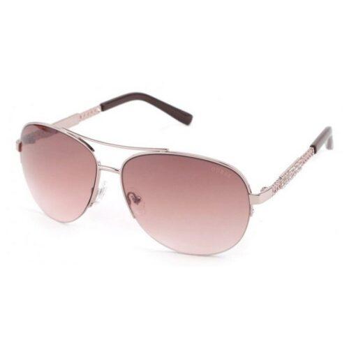 cadeau-anniversaire-lunettes-guess-metal-rose