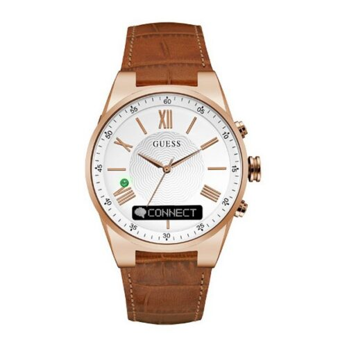 cadeau-anniversaire-montre-guess-cuir-homme