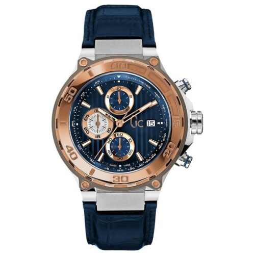 cadeau-anniversaire-montre-homme-guess-bleu