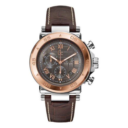 cadeau-anniversaire-montre-homme-guess-marron