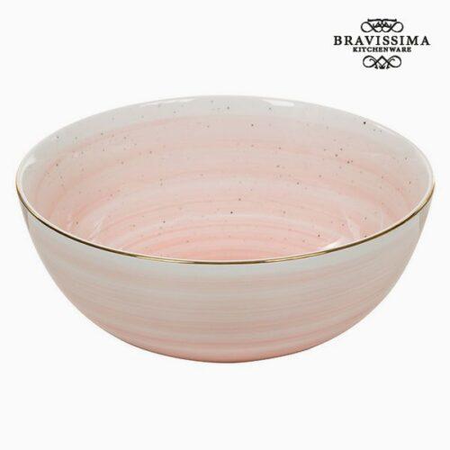 cadeau-de-noel-bol-porcelaine-rose