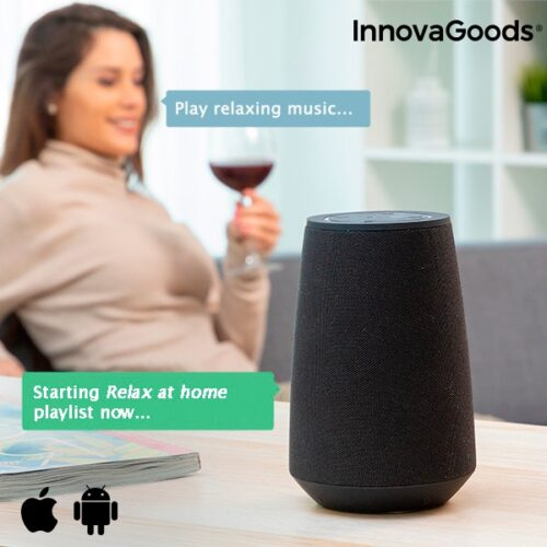 cadeau-papa-haut-parleurs-bluetooth-assistant-vocal-innovagoods