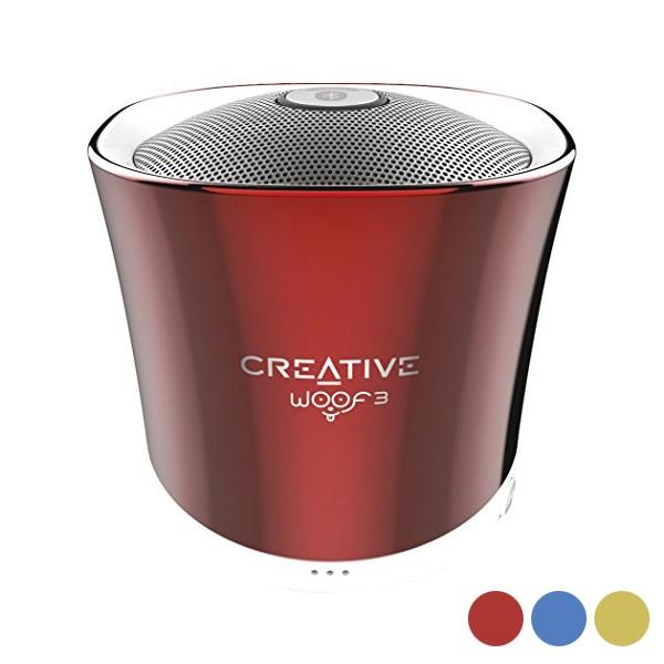 cadeau-papa-haut-parleurs-creative-technology-rouge