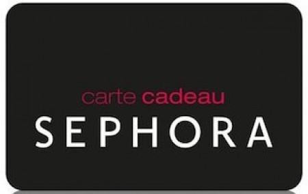 Carte Cadeau Sephora.Carte Cadeau Sephora