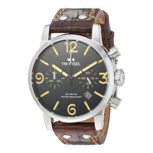 idee-cadeau-homme-montre-tw-steel-cuir