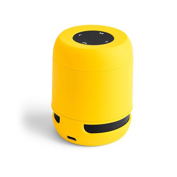 idee-cadeau-papa-haut-parleurs-bluetooth-usb-jaune
