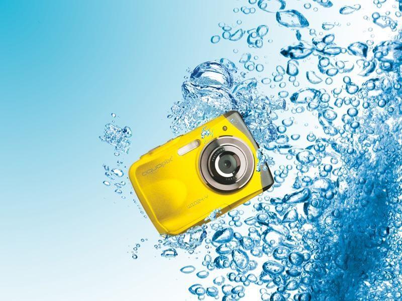 cadeau-client-camera-sous-marine-easypix-jaune-tendance