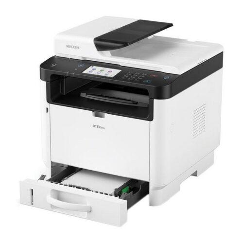 cadeau-fete-des-peres-imprimante-multifonction-ricoh-wifi-fax-blanc