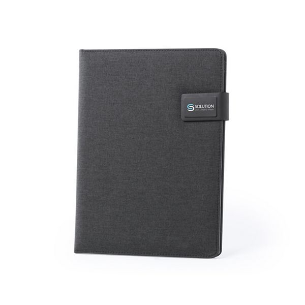 cadeau-noel-dossier-avec-power-bank-4000mah-20-feuilles-pratique