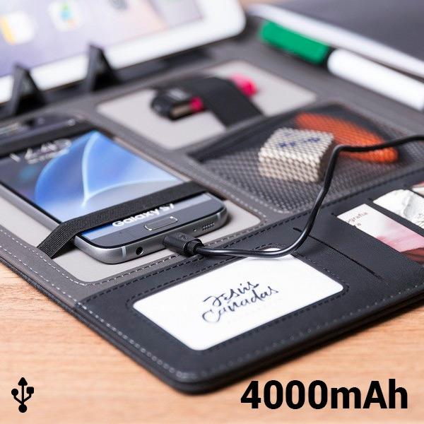 cadeau-noel-dossier-avec-power-bank-4000mah-20-feuilles