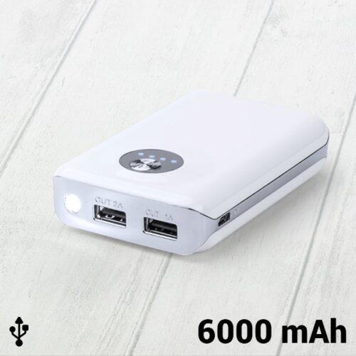 cadeau-noel-power-bank-double-usb-6000mah