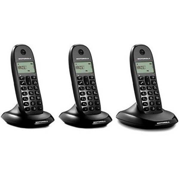 cadeau-noel-telephone-sans-fil-motorola-c1003-noir