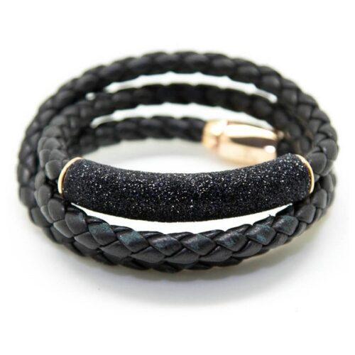 idee-cadeau-bracelet-femme-pesavento-19cm-noir