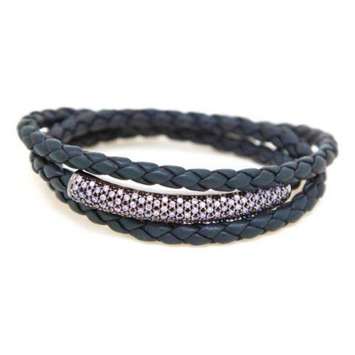 idee-cadeau-bracelet-femme-pesavento-bleu-19cm