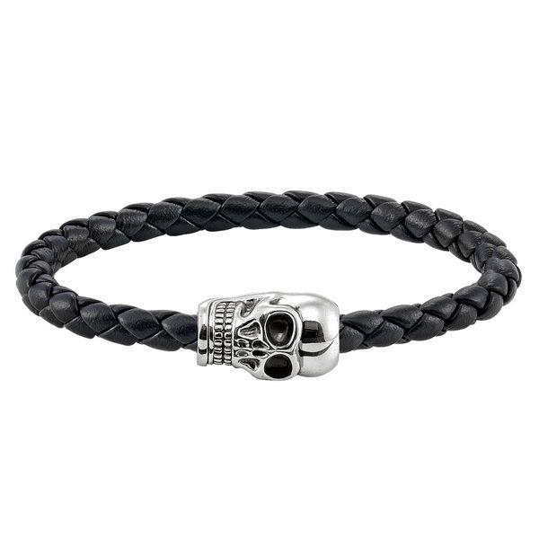 idee-cadeau-bracelet-unisexe-thomas-sabo-argente-noir