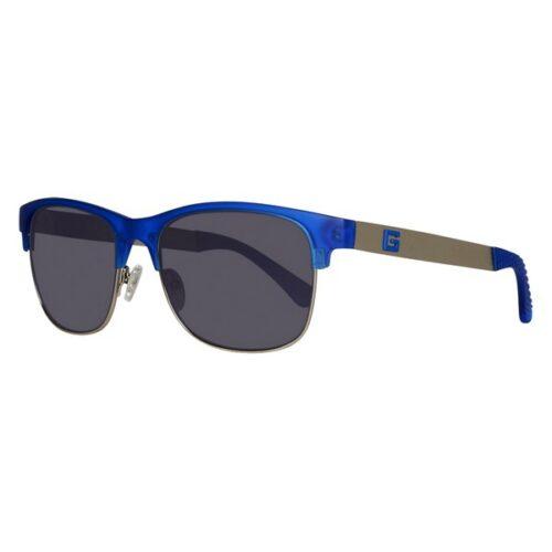 idee-cadeau-lunettes-de-soleil-homme-guess-bleu-metal-plastique