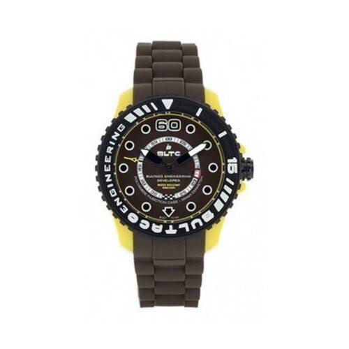 idee-cadeau-montre-homme-bultaco-silicone-marron