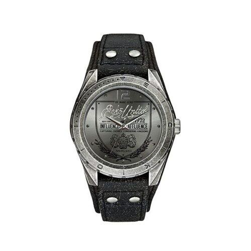 idee-cadeau-montre-homme-marc-eko-gris-et-cuir