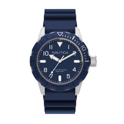 idee-cadeau-montre-homme-nautica-44mm-bleu
