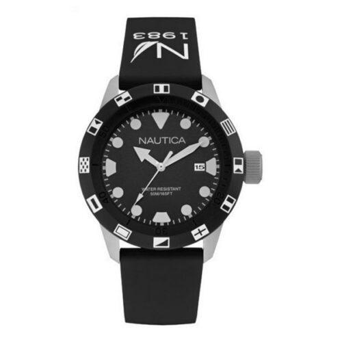 idee-cadeau-montre-homme-nautica-44mm-noir