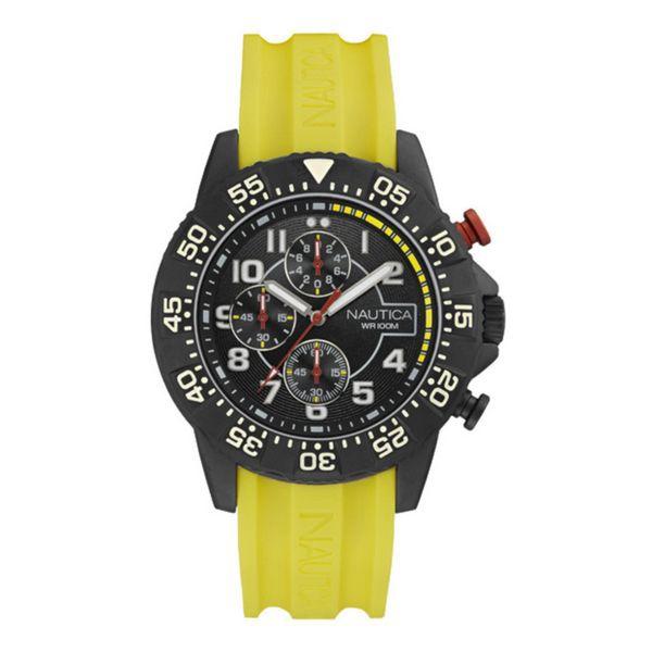 idee-cadeau-montre-homme-nautica-noir-silicone
