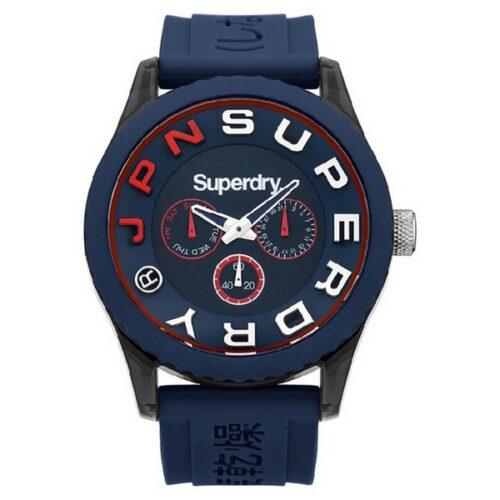 idee-cadeau-montre-homme-superdry-polycarbonate-bleu