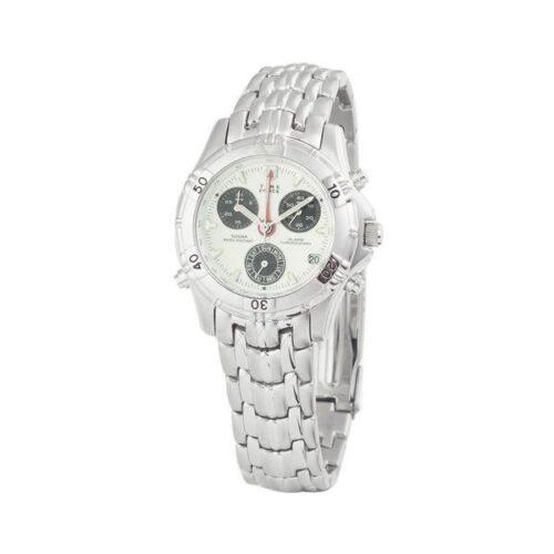 idee-cadeau-montre-homme-time-force-quartz-acier-blanc