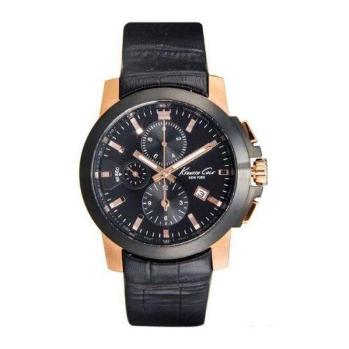 idee-cadeau-montre-kenneth-cole-cuir-et-noir