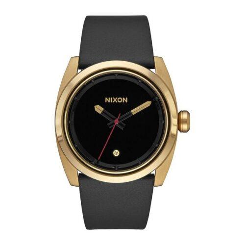 idee-cadeau-montre-nixon-homme-cuir-noir-41mm
