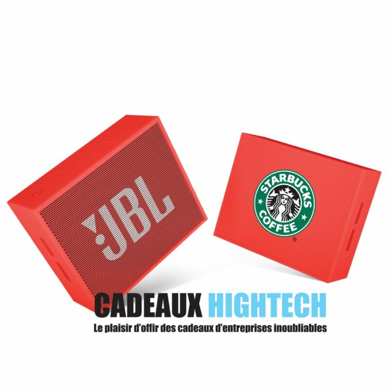 cadeau-entreprise-enceinte-jbl-rouge-sur-mesure