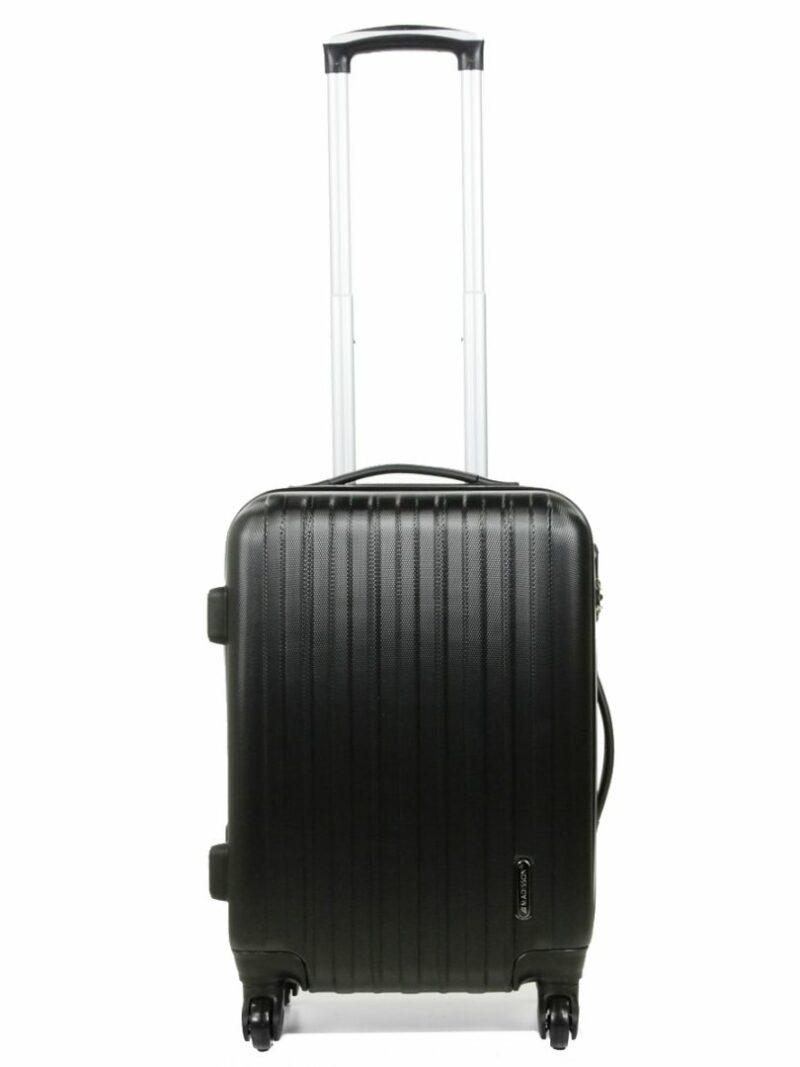 cadeau-entreprise-valise- cabine-madisson-noir-vue-de-face