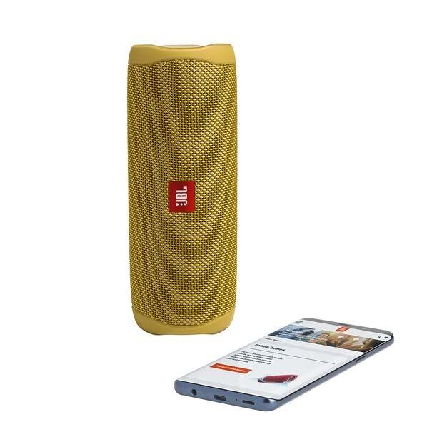cadeau-client-enceinte-jbl-flip-5-yellow-promotions