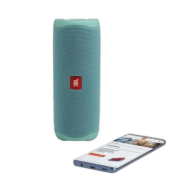 cadeau-entreprise-enceinte-jbl-flip-5-turquoise-economique