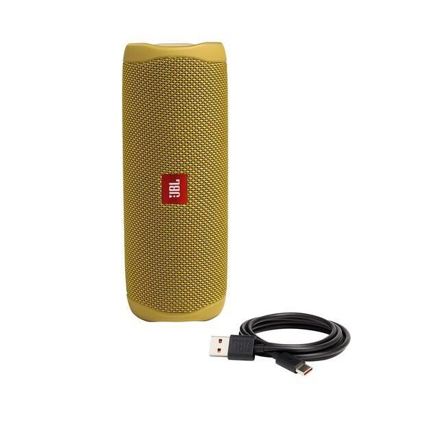 enceinte-jbl-flip-5-yellow-high-tech